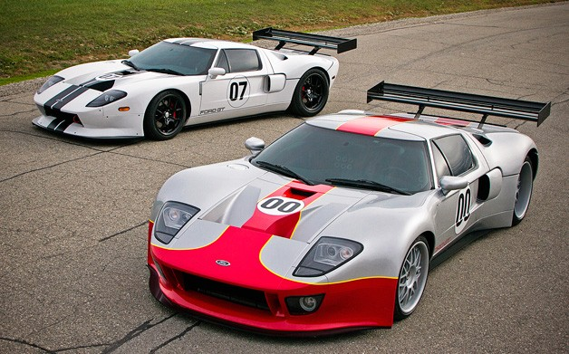 RH Motorsports Ford GT-based racecars for the street