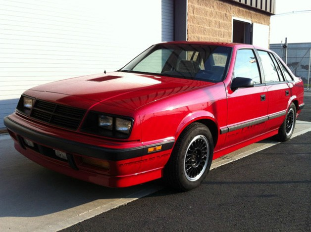 1987 Shelby Dodge Lancer - front three-quarter view