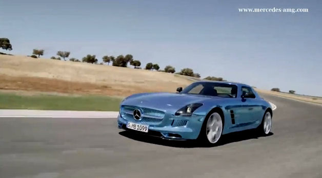SLS AMG Electric Drive at Ascari