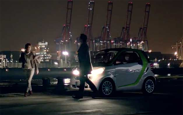 Smart Electric Drive ad offers blockbuster diagnosis for little car