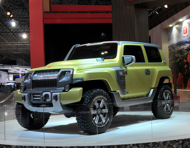 Troller R-X Concept is a Brazilian Ford Bronco for the new age