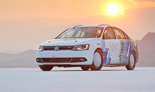 Volkswagen Jetta Hybrid Land Speed Racer