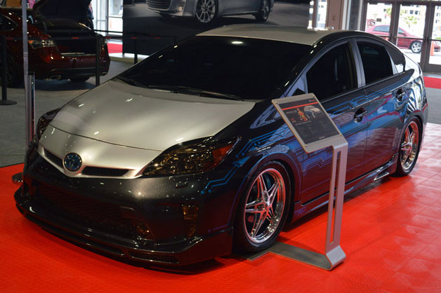 Tekked-Out Prius, Rowdy Camry round out Toyota's SEMA offerings
