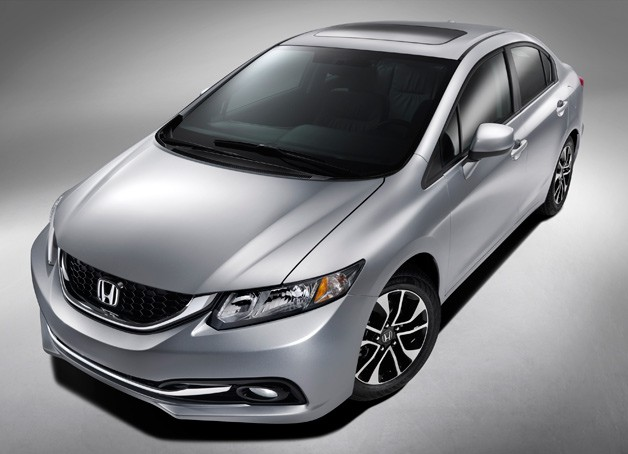 2013 Honda Civic - front three-quarter view