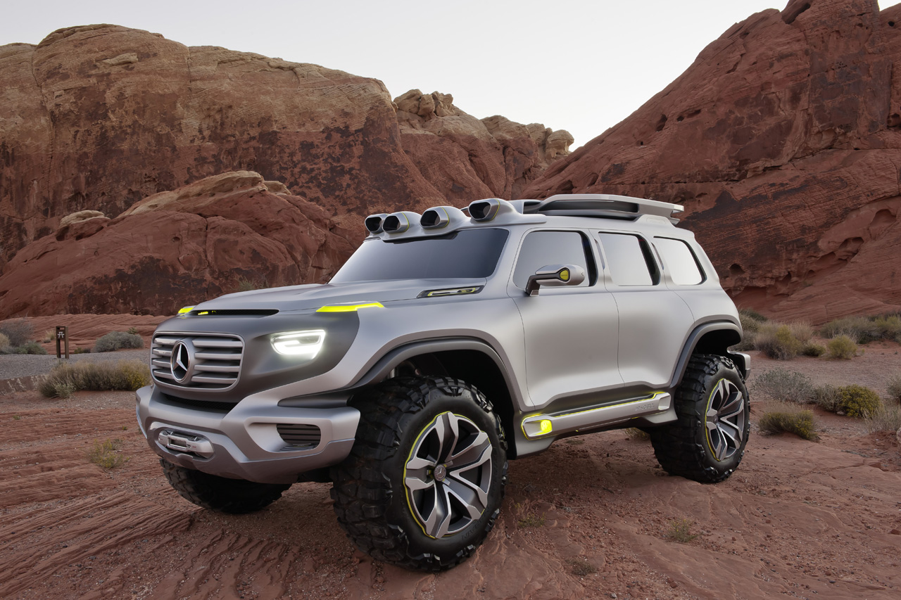 Mercedes benz ener g force concept is a g class for the for Mercedes benz g class 2012 price