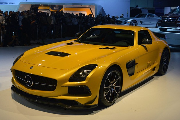 the 2014 mercedes benz sls amg black series proves that less is more