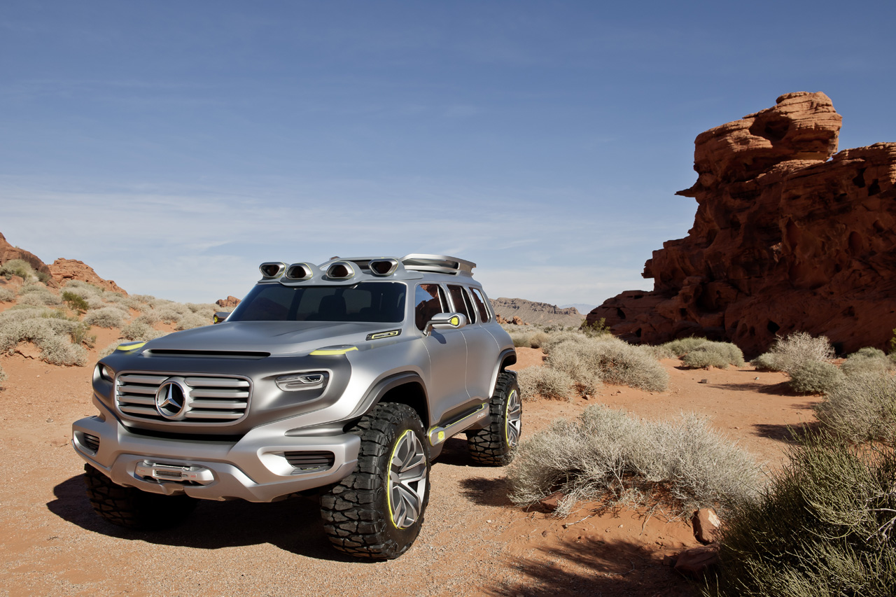 Mercedes benz ener g force concept is a g class for the for Looking for a mercedes benz