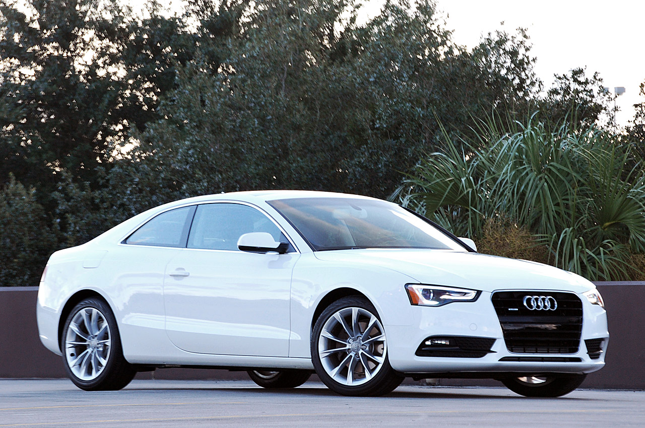 2013 audi a5 white at night images galleries with a bite. Black Bedroom Furniture Sets. Home Design Ideas