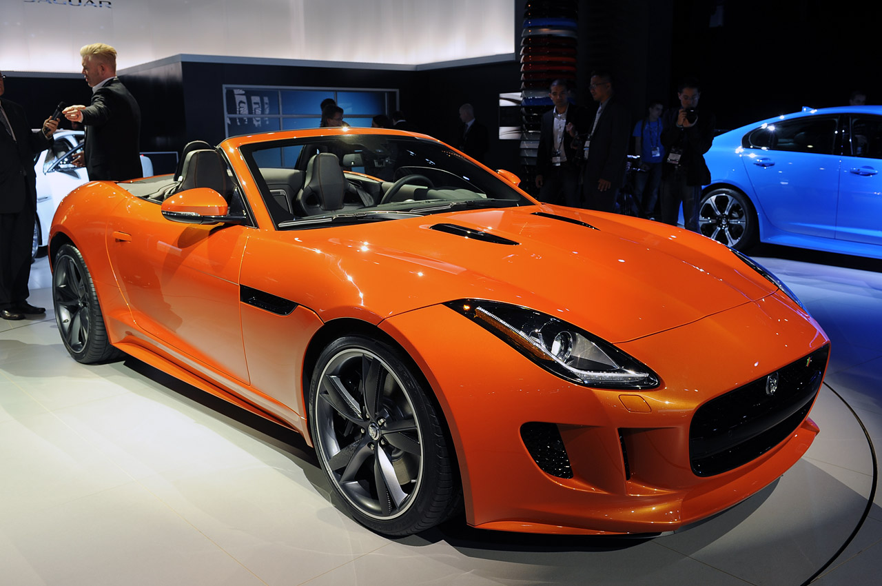 Jaguar F Type Orange