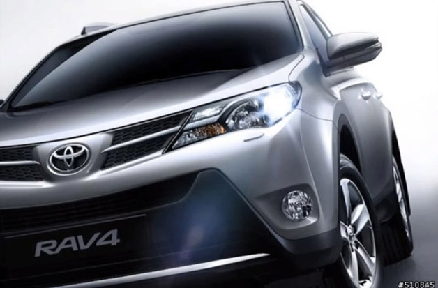 2014 Toyota RAV4 leaks out [UPDATE]