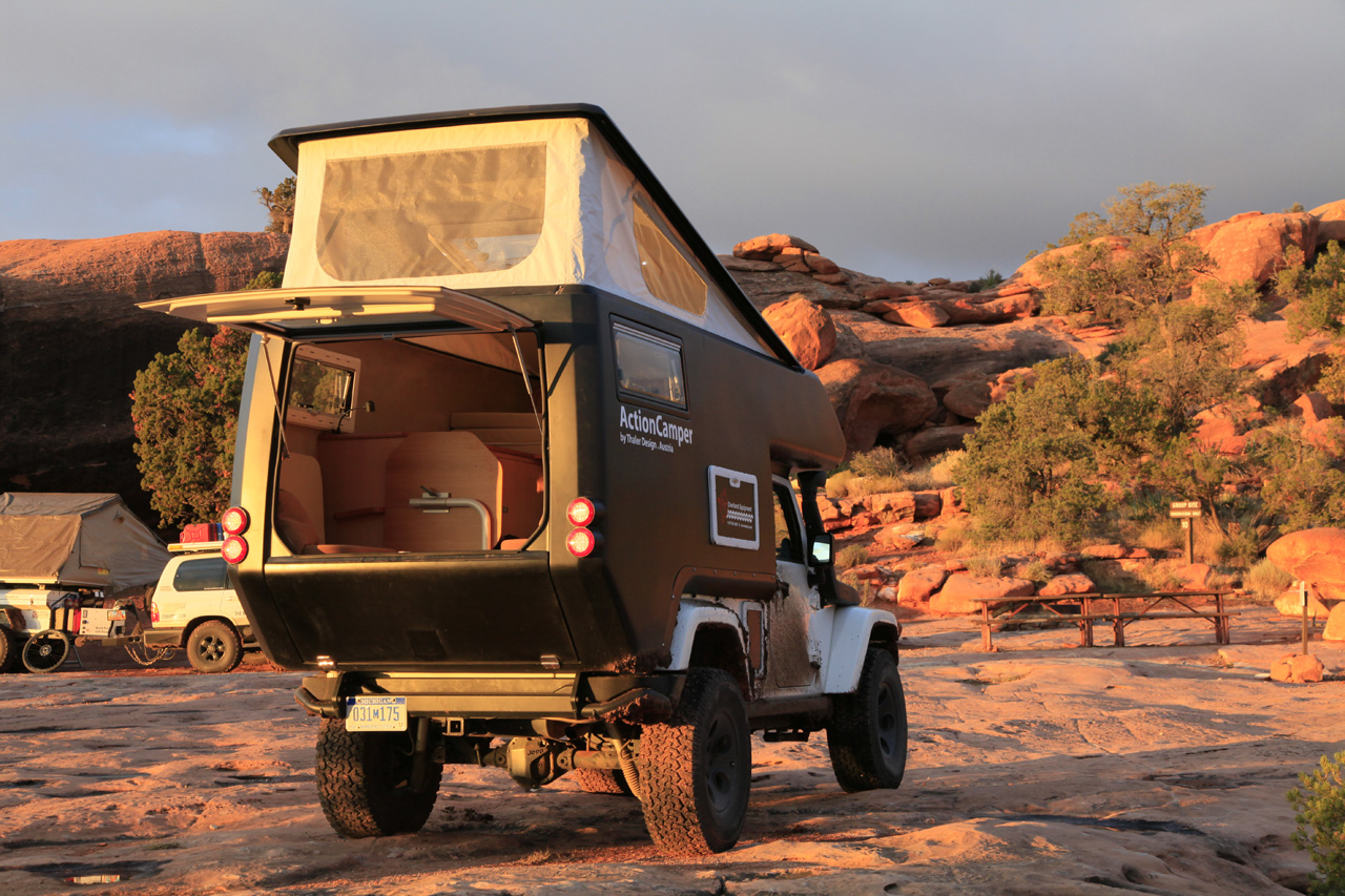 Jeep Wrangler Actioncamper By Thaler Design Photo Gallery