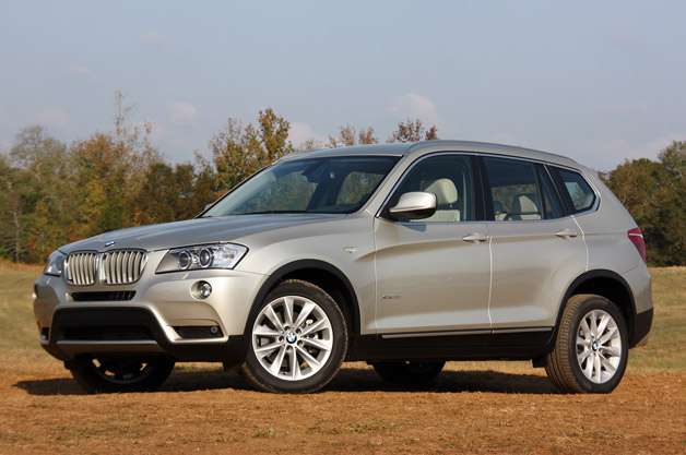 BMW X3 - front three-quarter view