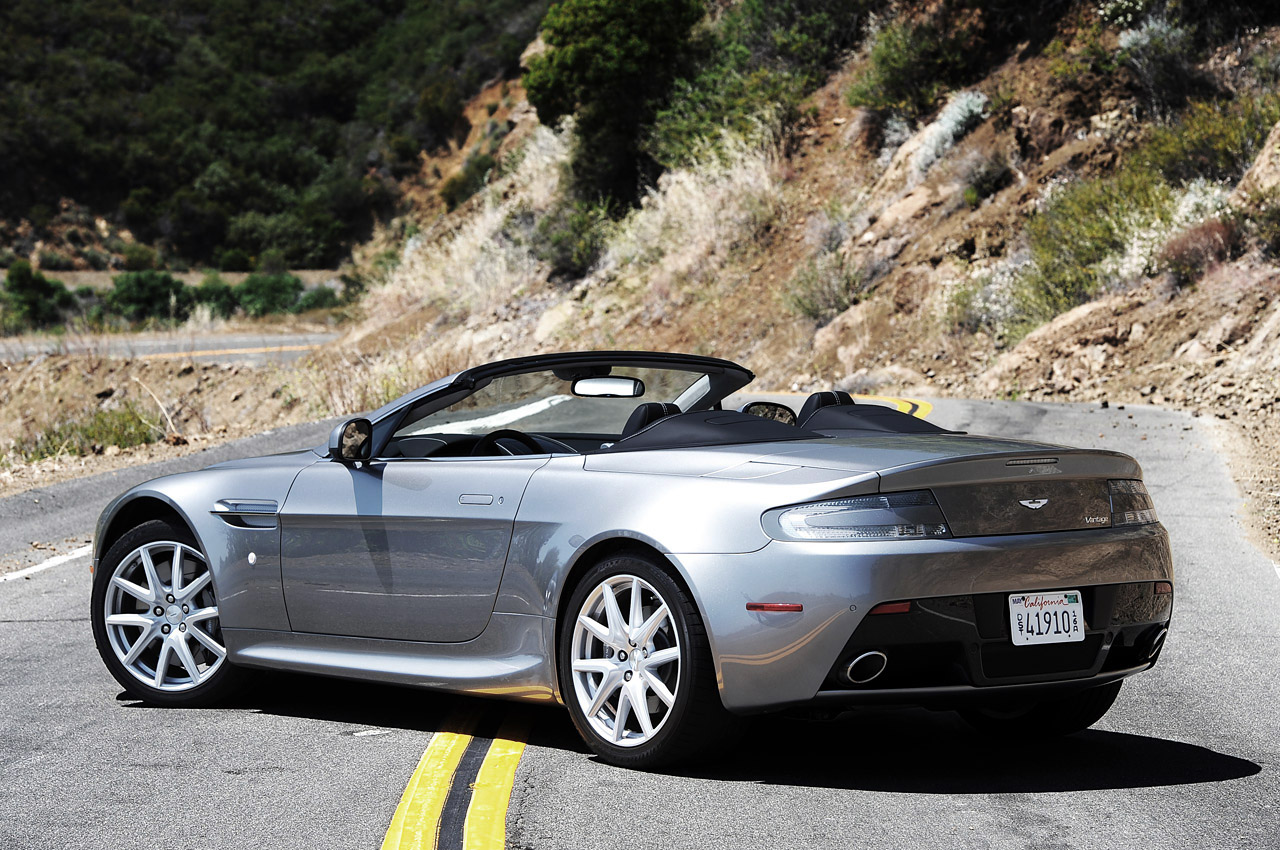 2013 Aston Martin V8 Vantage Roadster W Video Autoblog