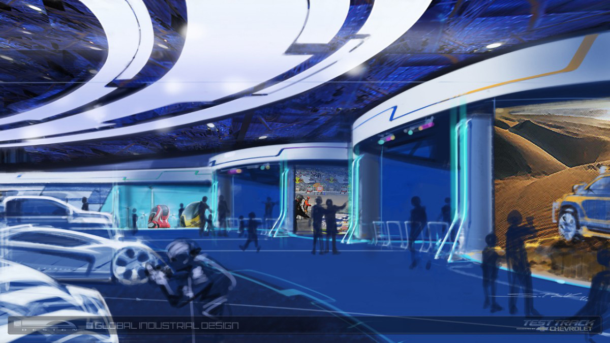Gm And Walt Disney Redesign Epcot Center S Test Track