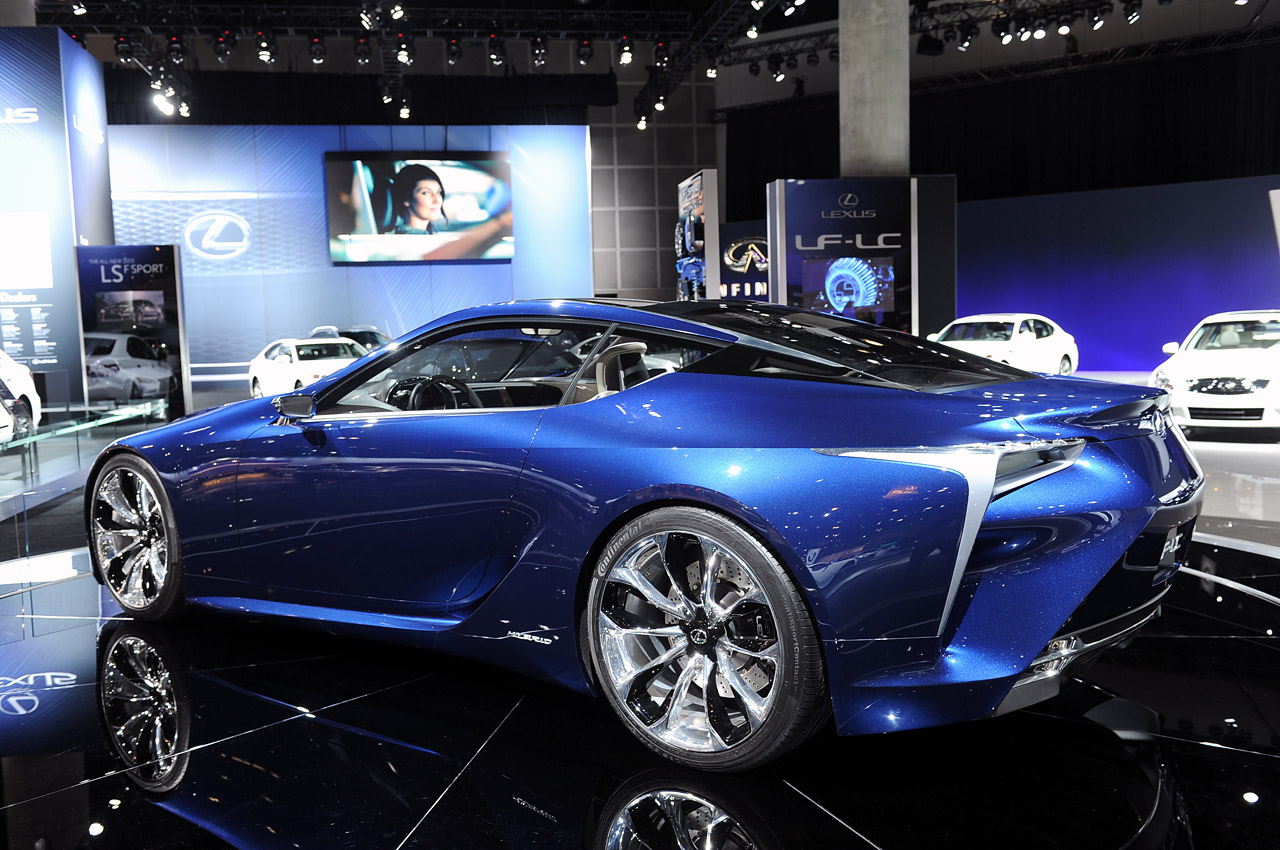 Lexus LF-LC Blue Photo Gallery - Autoblog
