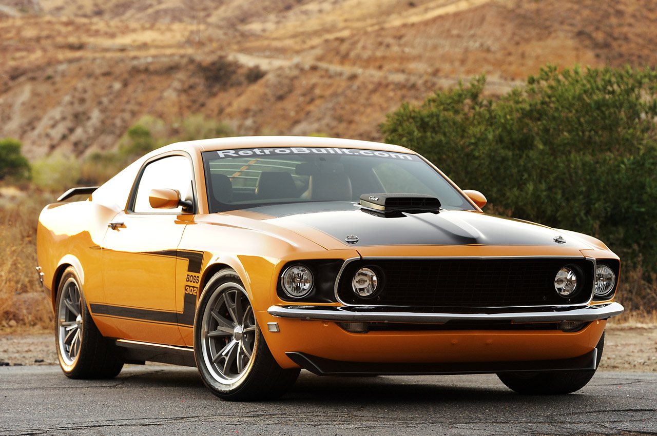 Retrobuilt 1969 Mustang Fastback: First Drive Photo ...