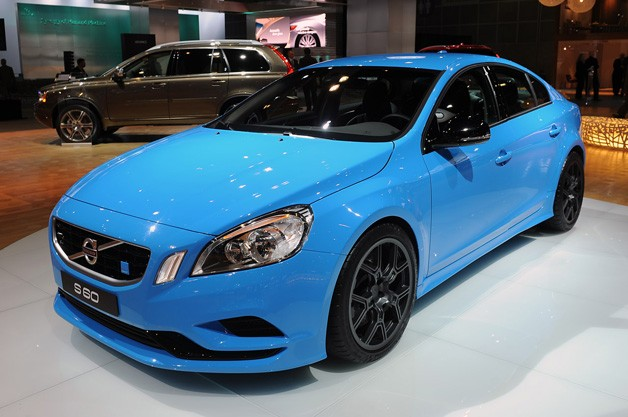 Volvo S60 Polestar Concept eventually speckled in a flesh