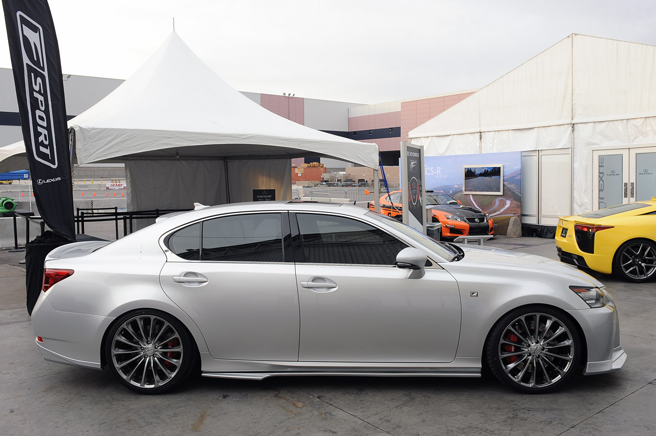 2013 lexus gs 350 f sport supercharged sema 2012 photo gallery. Black Bedroom Furniture Sets. Home Design Ideas