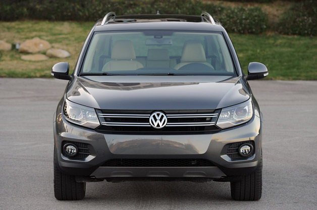 2012 Volkswagen Tiguan - dead-on front view