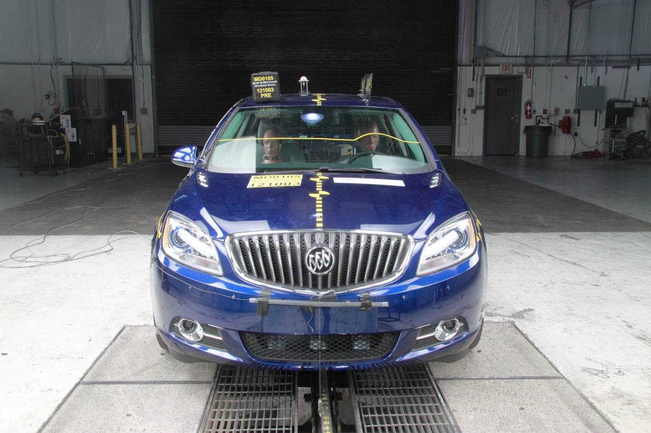 Buick Verano Nails Five Star Safety Rating From Nhtsa