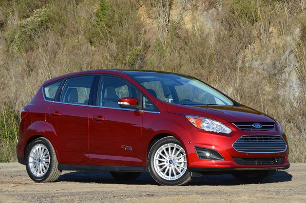 2013 Ford C-Max Energi - front three-quarter view