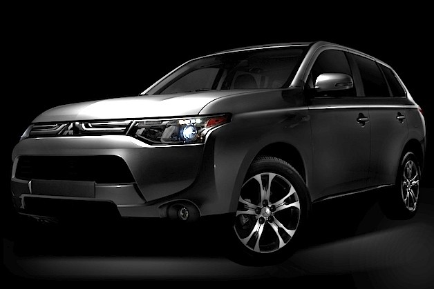 2014 Mitsubishi Outlander teaser image