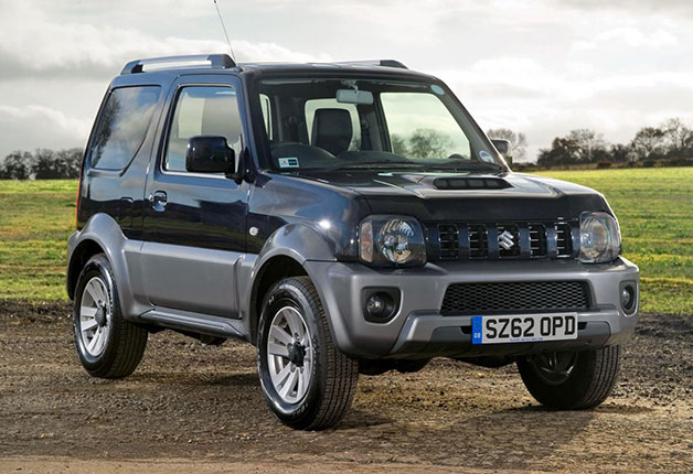 Suzuki Samurai lives upon with latest Jimny facelift