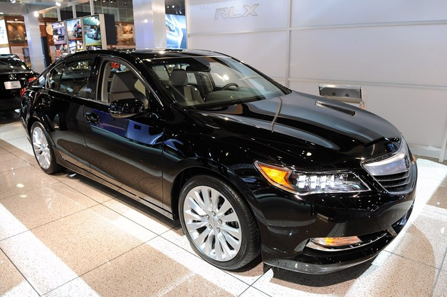 2014 Acura RLX replaces SH-AWD with P-AWS