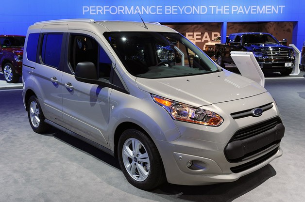 2014 Ford Transit Connect Wagon is as homely as it is hugely practical