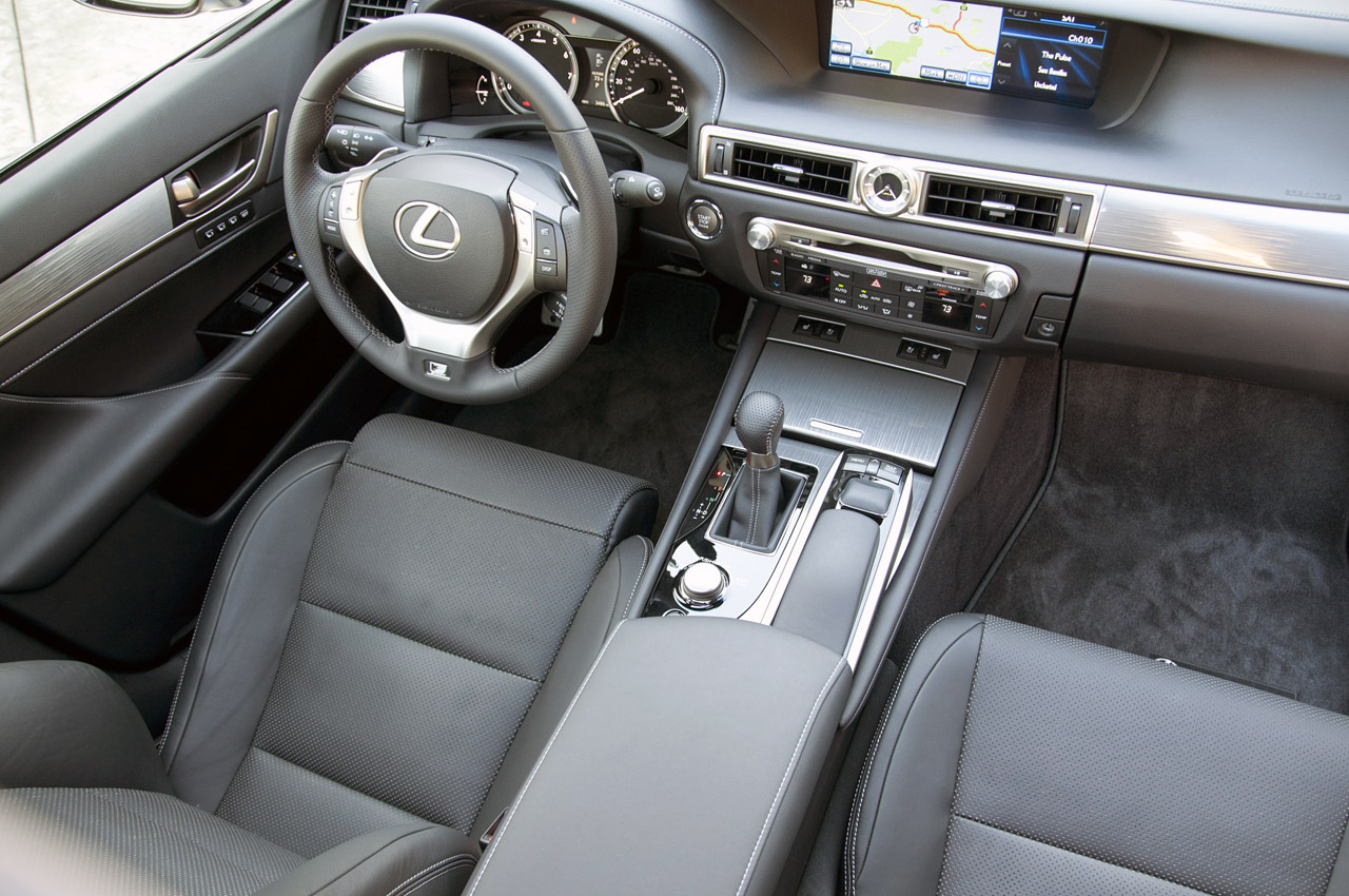 the new edgy sport luxury lexus reviews f gs bestride car review