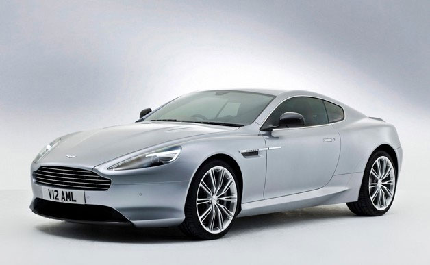 2013 Aston Martin DB9 - front three-quarter studio view