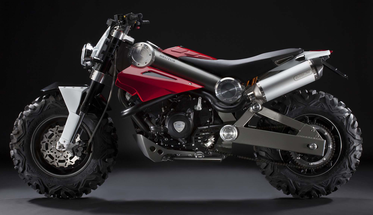 Brutus Motorcycle Is Half An Atv Autoblog