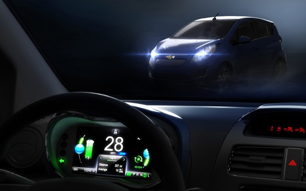 Chevrolet Spark EV teaser