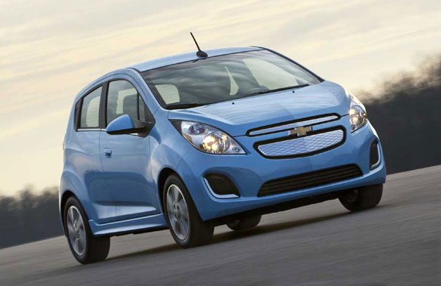 2014 chevy spark ev