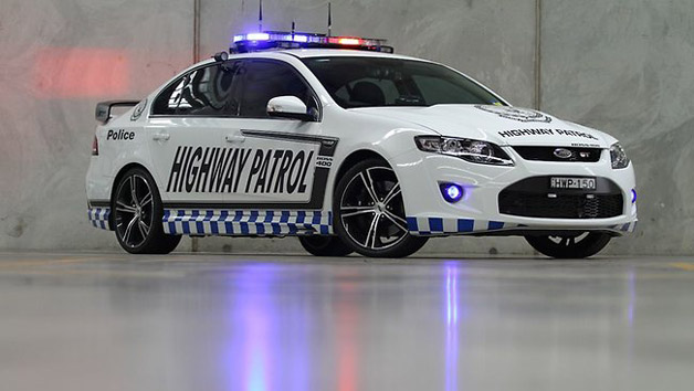 Ford Falcon GT Police Car