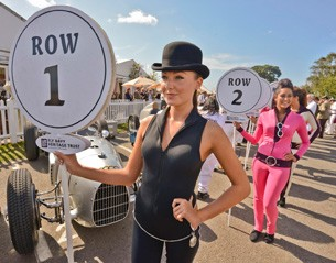 Goodwood brolly girls