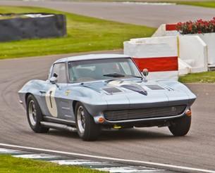 Corvette Grand Sport at Goodwood Revival