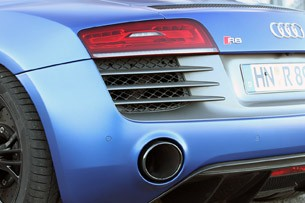 2014 Audi R8 V10 Plus rear fender