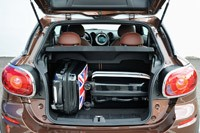 2014 Mini Cooper S Paceman rear cargo area