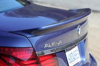 2013 BMW Alpina B7 rear spoiler