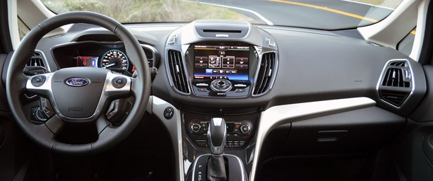 2013 Ford C-Max Energi interior