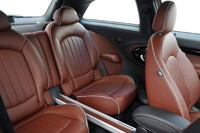 2014 Mini Cooper S Paceman rear seats