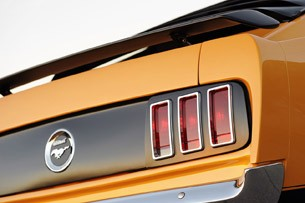 Retrobuilt 1969 Mustang Fastback taillights