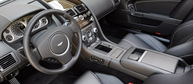 2012 Aston Martin V8 Vantage Roadster interior
