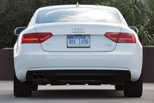 2013 Audi A5 2.0T Quattro rear view