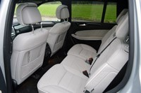 2013 Mercedes-Benz GL550 rear seats