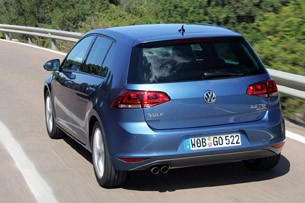 2015 Volkswagen Golf driving