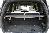 2013 Mercedes-Benz GL550 rear cargo area