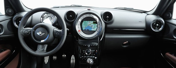 2014 Mini Cooper S Paceman interior
