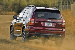 2014 Subaru Forester driving